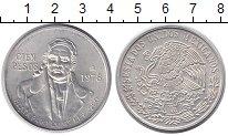 Изображение Монеты Мексика 10 песо 1978 Серебро UNC