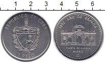 Изображение Монеты Куба 1 песо 1991 Медно-никель XF
