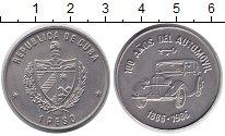 Монета Куба 1 песо Медно-никель 1986 XF фото