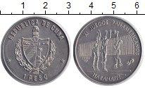 Изображение Монеты Куба 1 песо 1990 Медно-никель XF