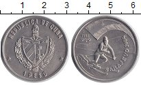 Изображение Монеты Куба 1 песо 1983 Медно-никель XF