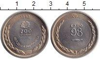Изображение Монеты Португалия 200 эскудо 1998 Биметалл XF
