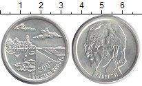 Изображение Монеты Бельгия 200 франков 2000 Серебро UNC-