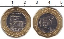 Изображение Монеты Сьерра-Леоне 500 леоне 2004 Биметалл UNC- Кай Лондо