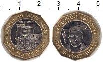 Изображение Монеты Сьерра-Леоне 500 леоне 2004 Биметалл UNC-