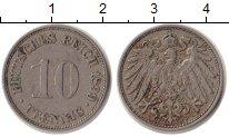 Изображение Монеты Германия 10 пфеннигов 1899 Медно-никель VF
