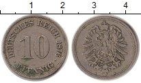 Изображение Монеты Германия 10 пфеннигов 1876 Медно-никель VF