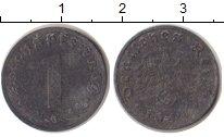 Изображение Монеты Третий Рейх 1 пфенниг 1942 Цинк VF