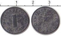 Изображение Монеты Третий Рейх 1 пфенниг 1944 Цинк XF A