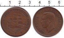 Изображение Монеты ЮАР 1 пенни 1941 Бронза XF