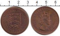 Изображение Монеты Остров Джерси 1/12 шиллинга 1960 Бронза XF