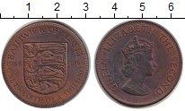 Изображение Монеты Остров Джерси 1/12 шиллинга 1966 Бронза XF Елизавета II