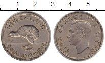 Изображение Монеты Новая Зеландия 1 флорин 1948 Медно-никель XF