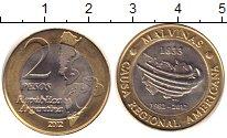 Изображение Монеты Аргентина Аргентина 2012 Биметалл XF