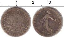 Изображение Монеты Франция 50 сантимов 1878 Серебро VF