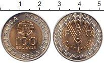Изображение Монеты Португалия 100 эскудо 1995 Биметалл UNC