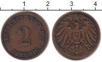Изображение Монеты Германия 2 пфеннига 1912 Бронза VF