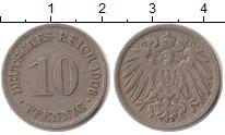 Изображение Монеты Германия 10 пфеннигов 1906 Медно-никель XF