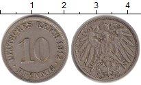 Изображение Монеты Германия 10 пфеннигов 1912 Медно-никель XF