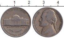 Изображение Монеты США 5 центов 1947 Медно-никель VF