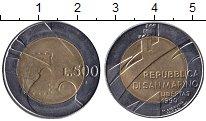 Изображение Мелочь Сан-Марино 500 лир 1990 Биметалл XF-