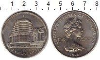 Изображение Монеты Новая Зеландия 1 доллар 1978 Медно-никель UNC