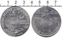 Изображение Монеты США 1 доллар 1992 Серебро UNC