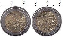 Изображение Монеты Италия 2 евро 2005 Биметалл XF