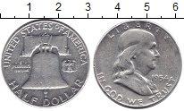 Изображение Монеты США 1/2 доллара 1954 Серебро XF