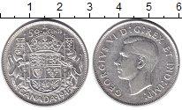 Изображение Монеты Канада 50 центов 1945 Серебро XF