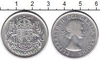 Изображение Монеты Канада 50 центов 1957 Серебро XF