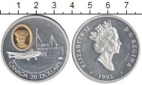 Изображение Монеты Канада 20 долларов 1993 Серебро Proof
