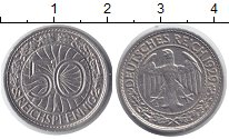 Изображение Монеты Веймарская республика 50 пфеннигов 1929 Медно-никель XF