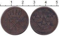 Изображение Монеты Швеция 1/6 эре 0 Медь VF Номинал?