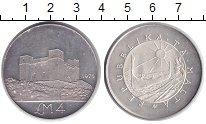 Изображение Монеты Мальта 4 фунта 1975 Серебро XF