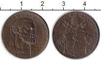Изображение Монеты Ватикан 10 чентезимо 1939 Медь XF Понтифик Пий XII.