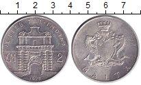 Изображение Монеты Мальта 2 фунта 1973 Серебро XF
