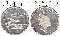 Токелау 5 долларов 1994 Серебро