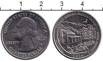Изображение Монеты США 1/4 доллара 2014 Медно-никель XF
