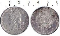 Изображение Монеты Аргентина 50 сентаво 1883 Серебро XF