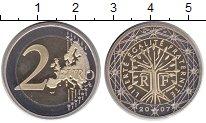 Изображение Монеты Франция 2 евро 2007 Биметалл Proof