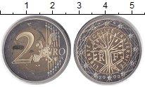 Изображение Монеты Франция 2 евро 2003 Биметалл Proof