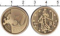 Изображение Монеты Франция 50 евроцентов 2007 Медь Proof
