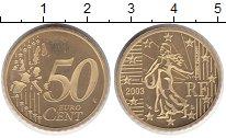 Изображение Монеты Франция 50 евроцентов 2003 Медь Proof