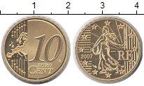 Изображение Монеты Франция 10 евроцентов 2007 Медь Proof
