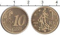 Изображение Монеты Франция 10 евроцентов 2003 Медь Proof