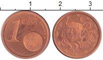 Изображение Монеты Франция 1 евроцент 2003 Медь Proof