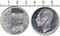 Изображение Монеты Люксембург 250 франков 1994 Серебро UNC
