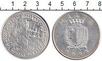 Изображение Монеты Мальта 5 фунтов 1990 Серебро XF