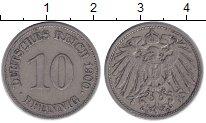 Изображение Монеты Германия 10 пфеннигов 1900 Медно-никель